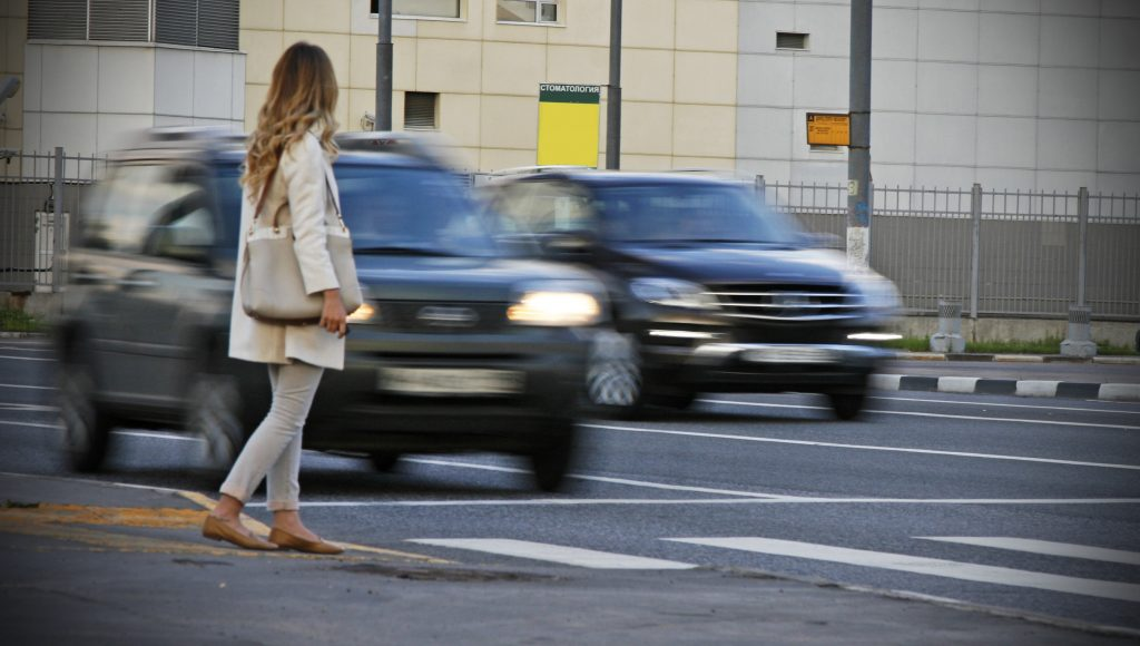 Если не пропустил пешехода на пешеходном переходе какой
