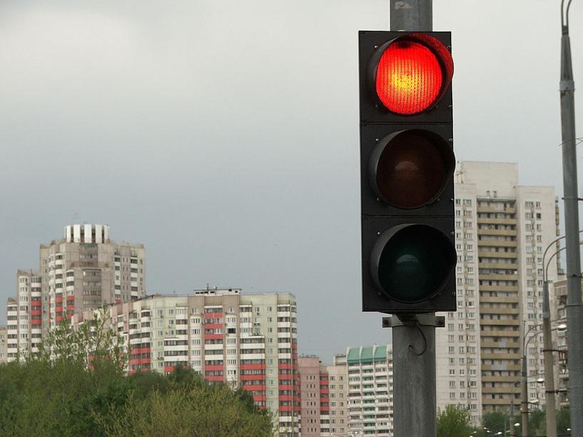 Проехал на красный свет что делать