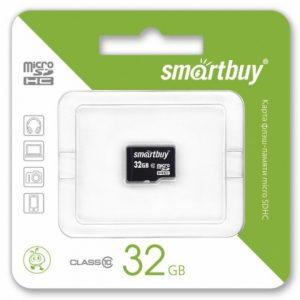 MicroSDHC 32GB SmartBuy