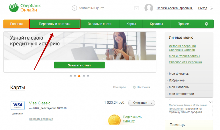 Вуйма, приложение кредитная историч сбербанка средство для
