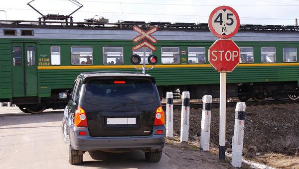 Проезд ЖД-переезда на «красный»: последствия